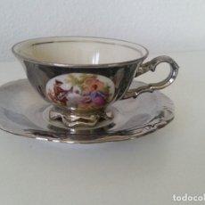 Antigüedades: PARA COLECION TAZA A CAFE, EXPRESSO CASAL ROMANTICO , PORCELANA BAVARIA ALEMANIA SELADA Y NUMERADA ,. Lote 210100806