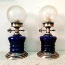 Antigüedades: LAMPARAS DE NOCHE. Lote 210107422