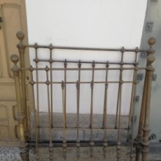 Antigüedades: ANTIGUA CAMA TODA DORADA. Lote 210111280