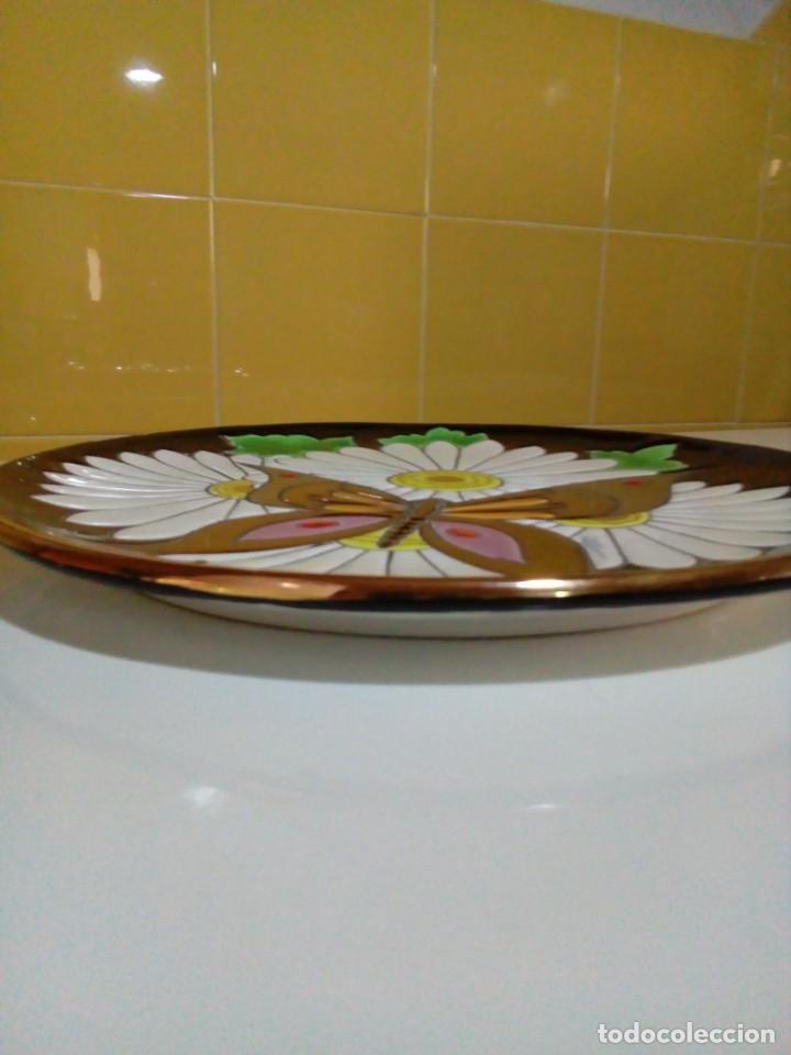 Antigüedades: bonito plato con relieve - Foto 4 - 210117311