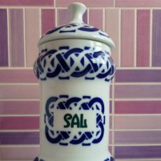 Antigüedades: TARRO SALERO DE SARGADELOS PLANTA DO CASTRO- ALBALERO SAL. Lote 210136812