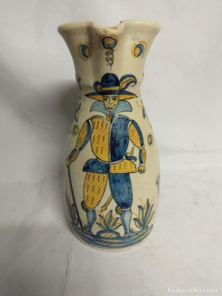 JARRA FABRICADA EN CERÁMICA DE LA MENORA, TALAVERA, ESPAÑA. (Antigüedades - Porcelanas y Cerámicas - Talavera)