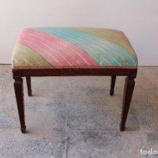Antigüedades: BANQUETA DESCALZADOR. Lote 210163502