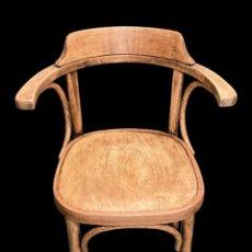 Antiquités: ANTIGUA SILLA DE MADERA DE HAYA, MUY SÓLIDA, CÓMODA , SIN CARCOMA.. Lote 210174541