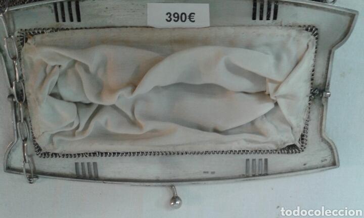 Antigüedades: Bolsito Art Deco de plata de ley - Foto 4 - 210190823