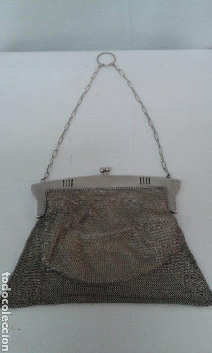 Antigüedades: Bolsito Art Deco de plata de ley - Foto 2 - 210190823