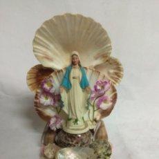 Antigüedades: ARTÍCULO RELIGIOSO VIRGEN MARÍA.. Lote 210200946