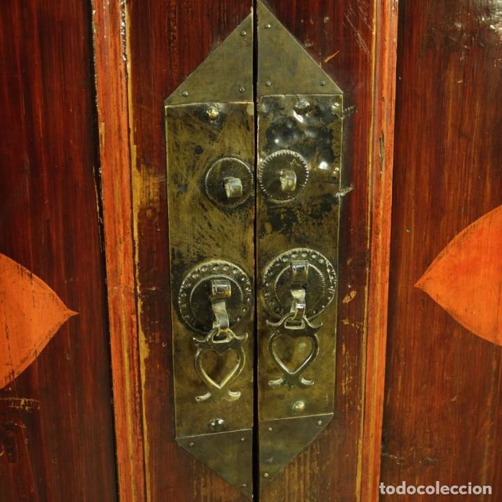 Antigüedades: Armario chino en madera exótica - Foto 4 - 210204472