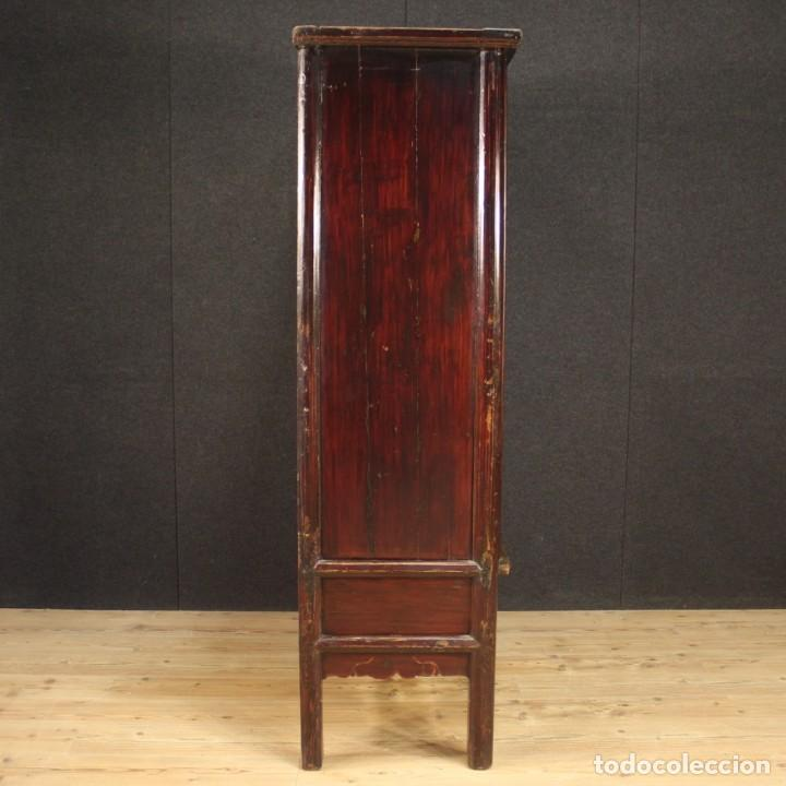 Antigüedades: Armario chino en madera exótica - Foto 9 - 210204472