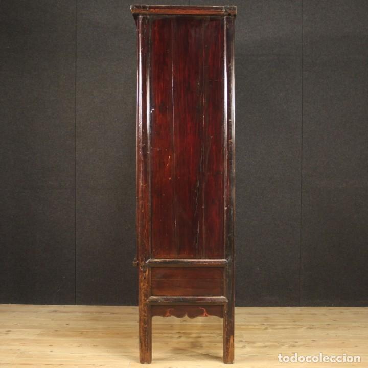 Antigüedades: Armario chino en madera exótica - Foto 11 - 210204472