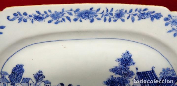 Antigüedades: BANDEJA CHINA EN PORCELANA, ÉPOCA KANXI (1668-1722). COMPAÑÍA DE INDIAS - Foto 2 - 210209940