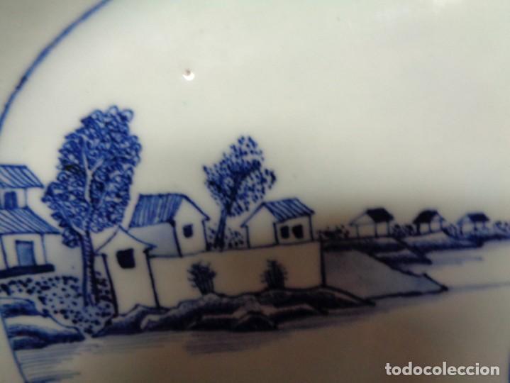 Antigüedades: BANDEJA CHINA EN PORCELANA, ÉPOCA KANXI (1668-1722). COMPAÑÍA DE INDIAS - Foto 3 - 210209940