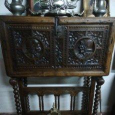 Antigüedades: BARGUEÑO NOGAL. Lote 210224955