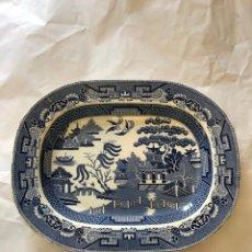 Antigüedades: BANDEJA DE PORCELANA INGLESA.. Lote 210231223