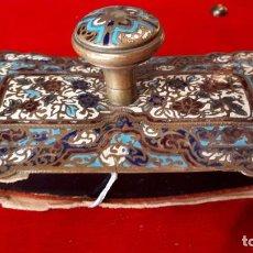 Antigüedades: SECANTE DE ESMALTE SIGLO XIX.. Lote 210240960