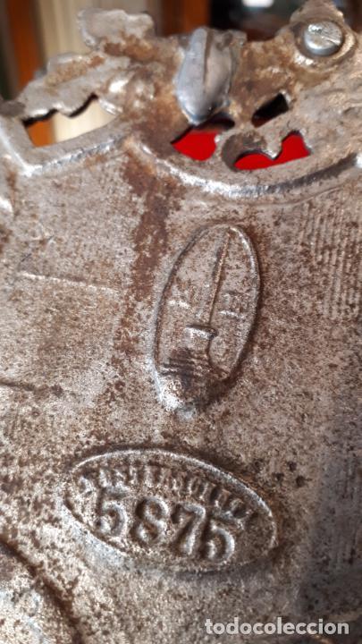 Antigüedades: ESCRIBANIA ALEMANA. TEMA DEPORTIVO. 1930. - Foto 8 - 210244708