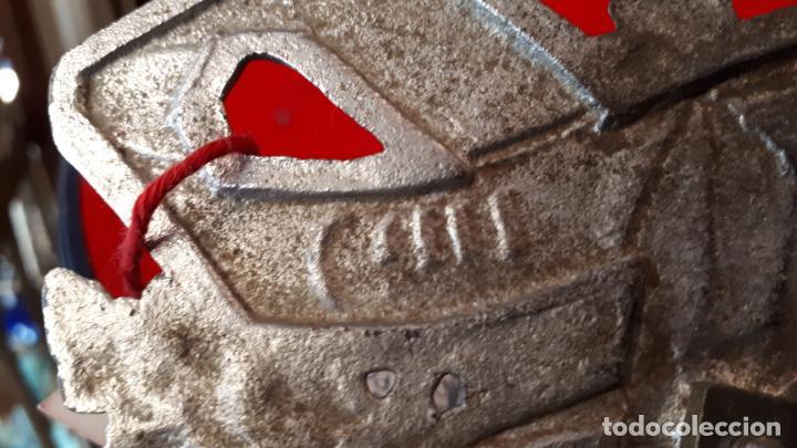 Antigüedades: ESCRIBANIA ALEMANA. TEMA DEPORTIVO. 1930. - Foto 10 - 210244708