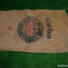 Antigüedades: SACO DE ARPILLERA.COMPAÑÍA DE INDUSTRIAS AGRÍCOLAS - BARCELONA - LA AZUCARERA DEL JILOCA.95 X 60 CM.. Lote 210258135
