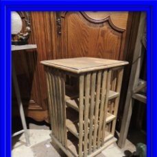 Antigüedades: REVOLVING DE MADERA GIRATORIO. Lote 210261080