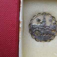 Antigüedades: INSIGNIA DE PLATA DE LEY CORDOBA EN FILIGRANA. Lote 210266658