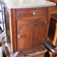 Antigüedades: MESILLA MODERNISTA ROBLE FRANCÉS. Lote 210267855