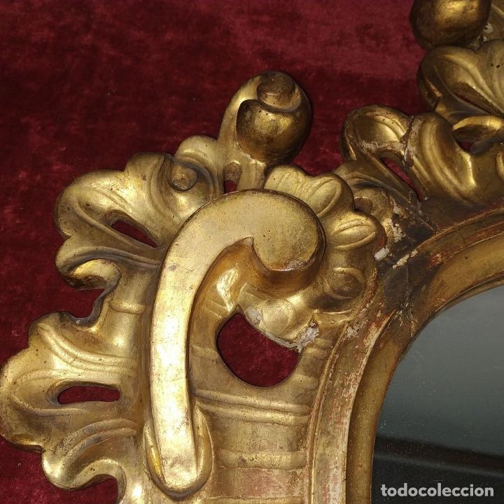 Antigüedades: CORNUCOPIA. MADERA TALLADA Y DORADA A LA HOJA DE ORO. ESPAÑA. SIGLO XIX-XX - Foto 7 - 210279395