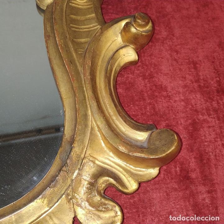 Antigüedades: CORNUCOPIA. MADERA TALLADA Y DORADA A LA HOJA DE ORO. ESPAÑA. SIGLO XIX-XX - Foto 12 - 210279395