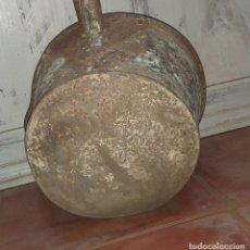 Antigüedades: GRAN CAZO CON MANGO PARA LABORES DE CAMPO. Lote 210330110