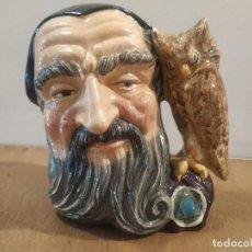 Antigüedades: JARRA ROYAL DOULTON - MERLIN. Lote 210331217