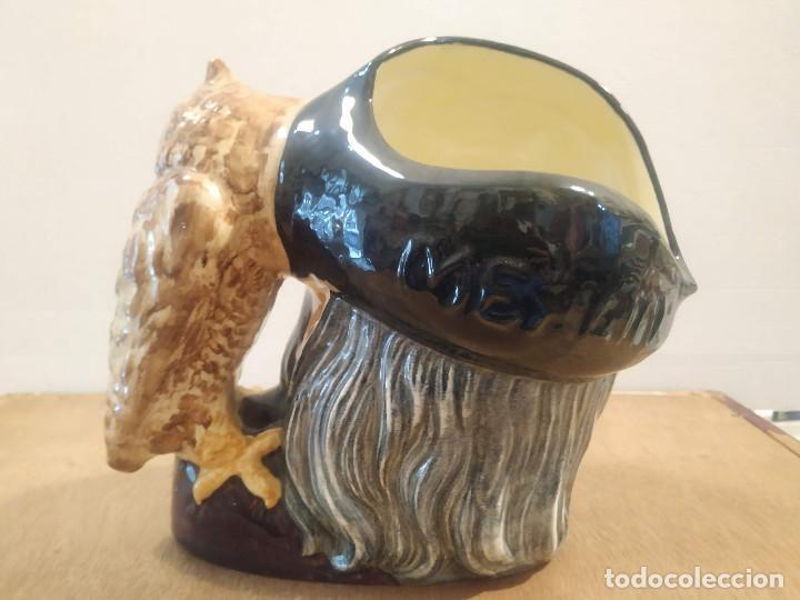 Antigüedades: JARRA ROYAL DOULTON - MERLIN - Foto 2 - 210331217