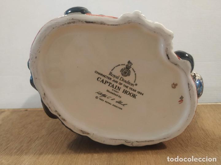 Antigüedades: JARRA ROYAL DOULTON - CAPTAIN HOOK (CAPITAN GARFIO) - Foto 3 - 210331705