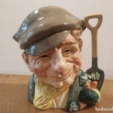 Antigüedades: JARRA ROYAL DOULTON - THE GARDENER (EL JARDINERO). Lote 210332005