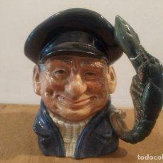 Antigüedades: JARRA ROYAL DOULTON - LOBSTER MAN (PESCADOR DE LANGOSTA). Lote 210332651