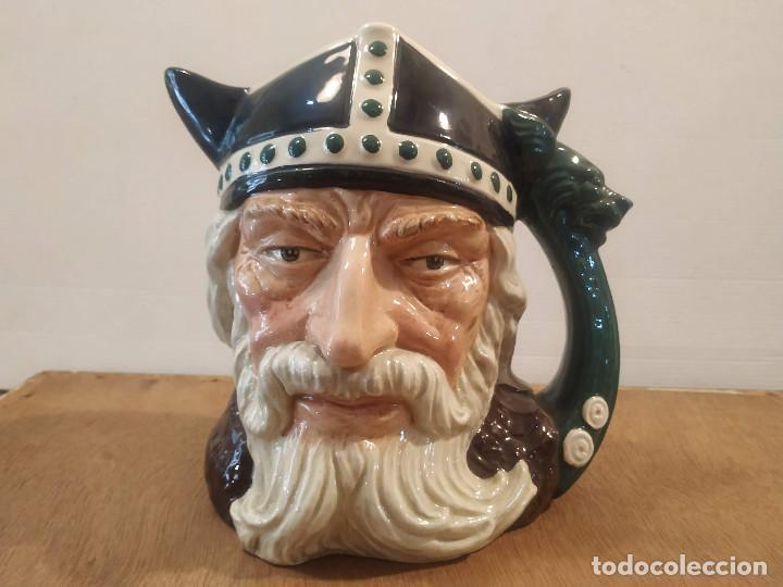 JARRA ROYAL DOULTON - VIKING (VIKINGO) (Antigüedades - Porcelanas y Cerámicas - Inglesa, Bristol y Otros)