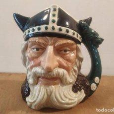 Antigüedades: JARRA ROYAL DOULTON - VIKING (VIKINGO). Lote 210332823