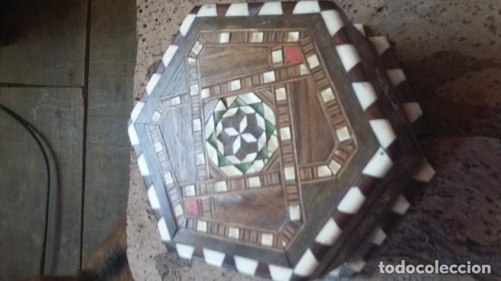 CAJA JOYERO TARACEA GRANADINA (Antigüedades - Hogar y Decoración - Cajas Antiguas)
