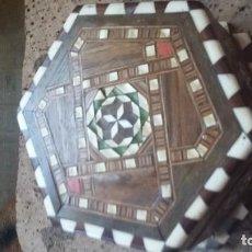 Antigüedades: CAJA JOYERO TARACEA GRANADINA. Lote 210332920