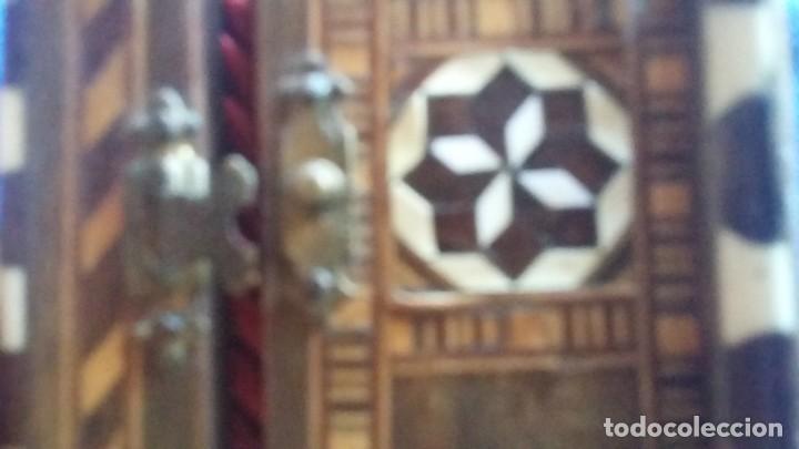 Antigüedades: caja joyero taracea granadina - Foto 4 - 210332920