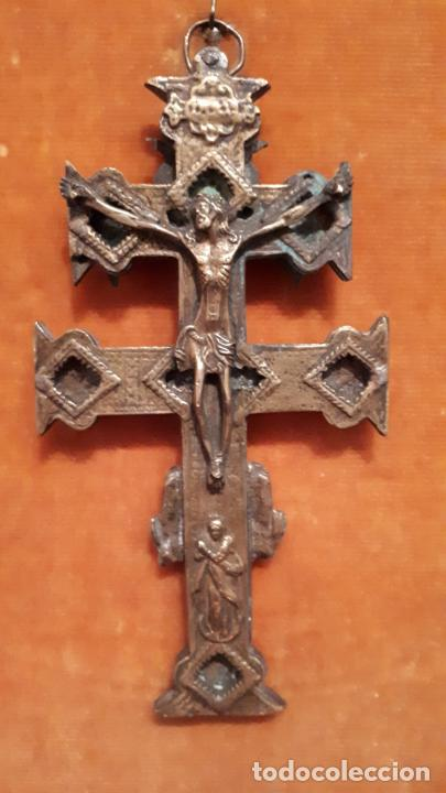 CRUZ DE CARAVACA. SIGLO XVIII-XIX. (Antigüedades - Religiosas - Cruces Antiguas)