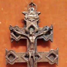 Antigüedades: CRUZ DE CARAVACA. SIGLO XVIII-XIX.. Lote 210336127