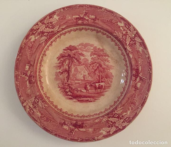 PLATO DE SAN JUAN DE AZNALFARACHE. 2ª ÉPOCA, RAMÓN RODRIGUEZ (Antigüedades - Porcelanas y Cerámicas - San Juan de Aznalfarache)
