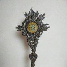 Oggetti Antichi: RELICARIO DE PIE, SIGLO XVIII. Lote 210342037