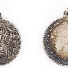 Antigüedades: 1928. MEDALLA DE SAN JUAN BAUTISTA DE LA SALLE. 6 GR. PLATA. EBC. ESCASA. Lote 210344607