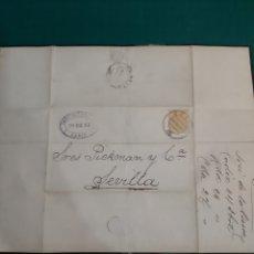 Antigüedades: JOSE VIESCA CADIZ CARTA DIRIGIDA PICKMAN CÍA SEVILLA 1883. Lote 210367181