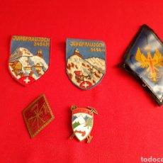 Antigüedades: LOTE DE PARCHES Y SIGNIAS. Lote 210375511