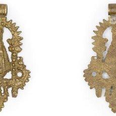 Antigüedades: SIGLO XVIII-XIX. PLATA. MEDALLA DE LA VIRGEN DEL SAGRARIO DE TOLEDO. 20,35 GR.. Lote 210391225