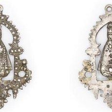 Antigüedades: SIGLO XVIII-XIX. PLATA. MEDALLA DE LA VIRGEN DEL SAGRARIO DE TOLEDO. 24,67 GR.. Lote 210391320