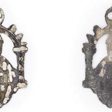 Antigüedades: SIGLO XVIII-XIX. PLATA. MEDALLA DE LA VIRGEN DEL SAGRADO CORAZÓN DE TOLEDO. 4,6 GR.. Lote 210392091