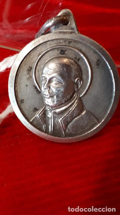 MEDALLA SAN IGNACIO DE LOYOLA. (Antigüedades - Religiosas - Medallas Antiguas)
