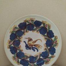 Antigüedades: PLATO DE PORCELANA ANTIGUO. Lote 210405736